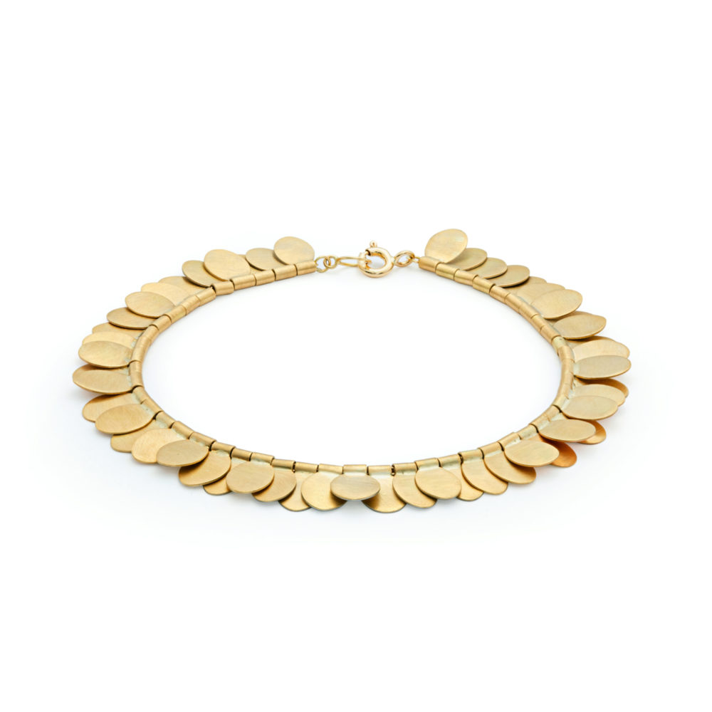 Sia Taylor FB1 YRAIN Rainbow Gold Bracelet Front WB