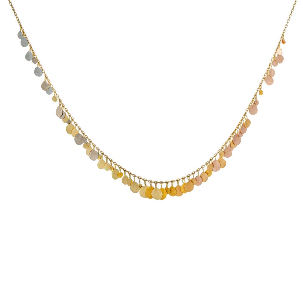 Sia Taylor FN8 RAIN Rainbow Gold Necklace WB