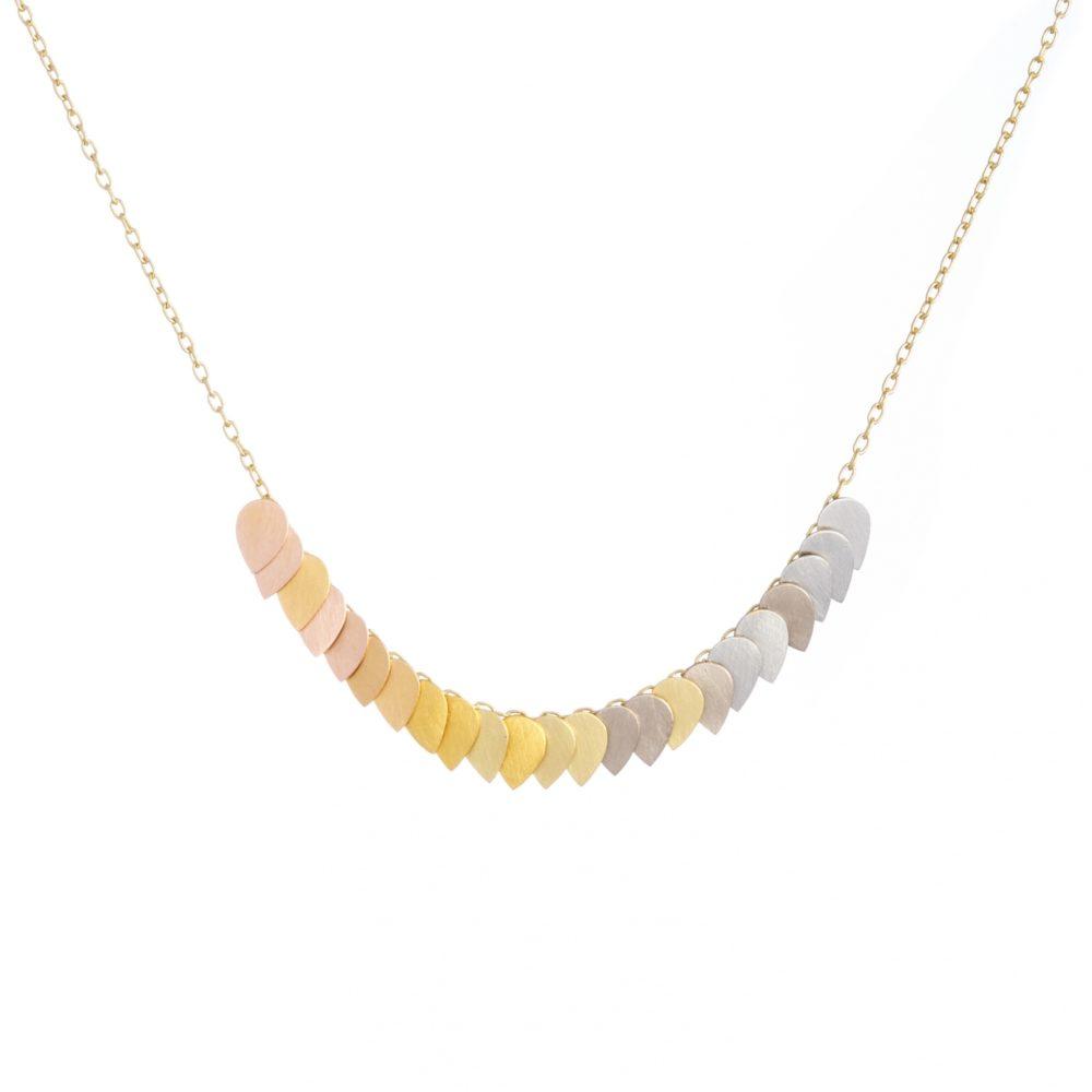 Sia Taylor KN1 YRAIN Golden Rainbow Necklace WB