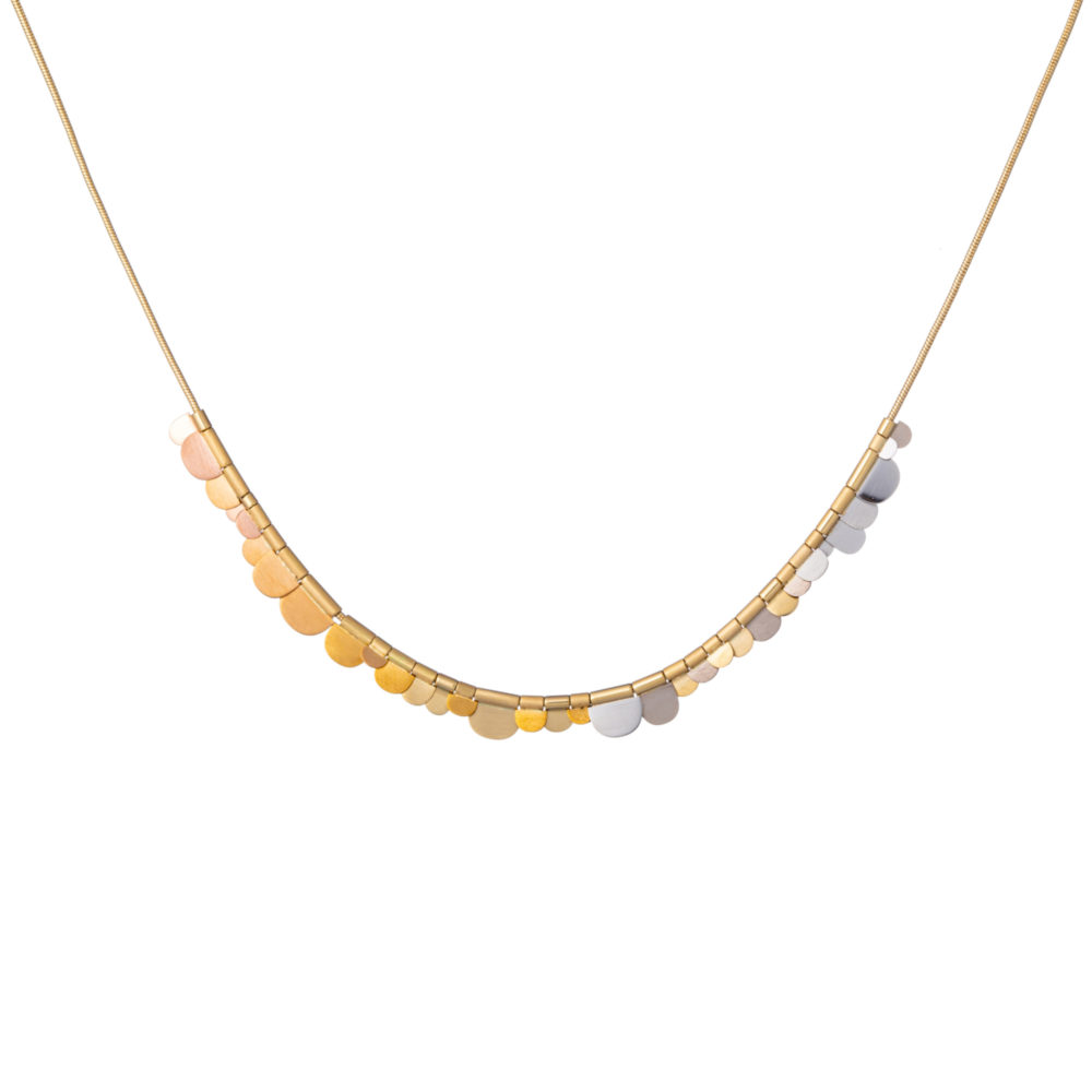 Sia Taylor KN3 YRAIN N Rainbow Gold Flora Necklace WB