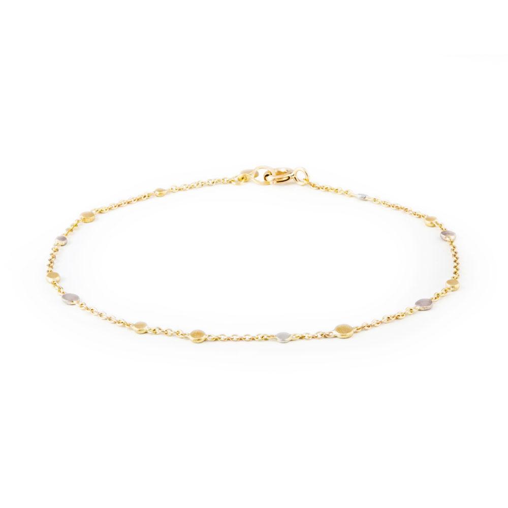 Sia Taylor SB1 YWP Gold Platinum Scattered Dust Bracelet WB