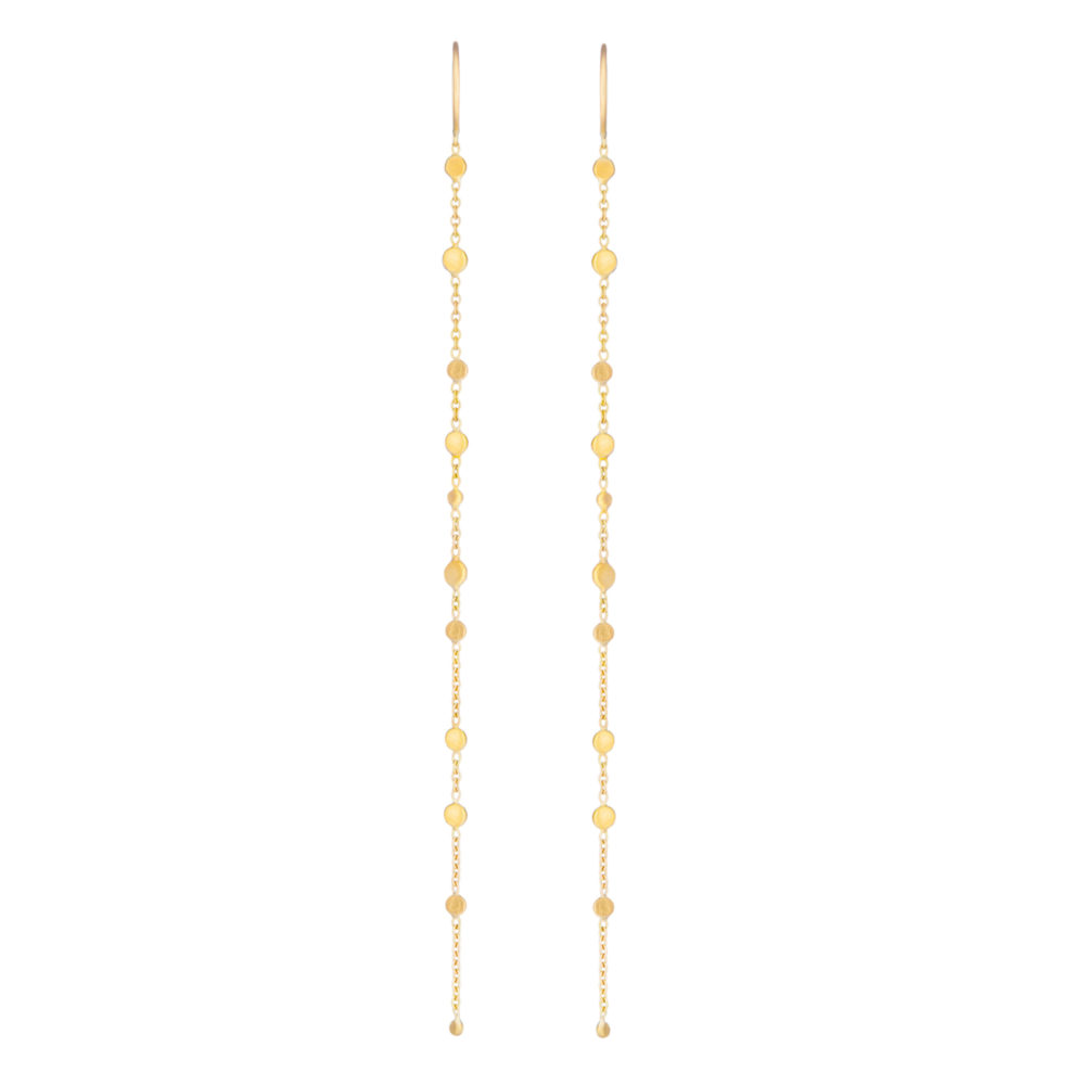 Sia Taylor SE4 Y Yellow Gold Dust Earring WB