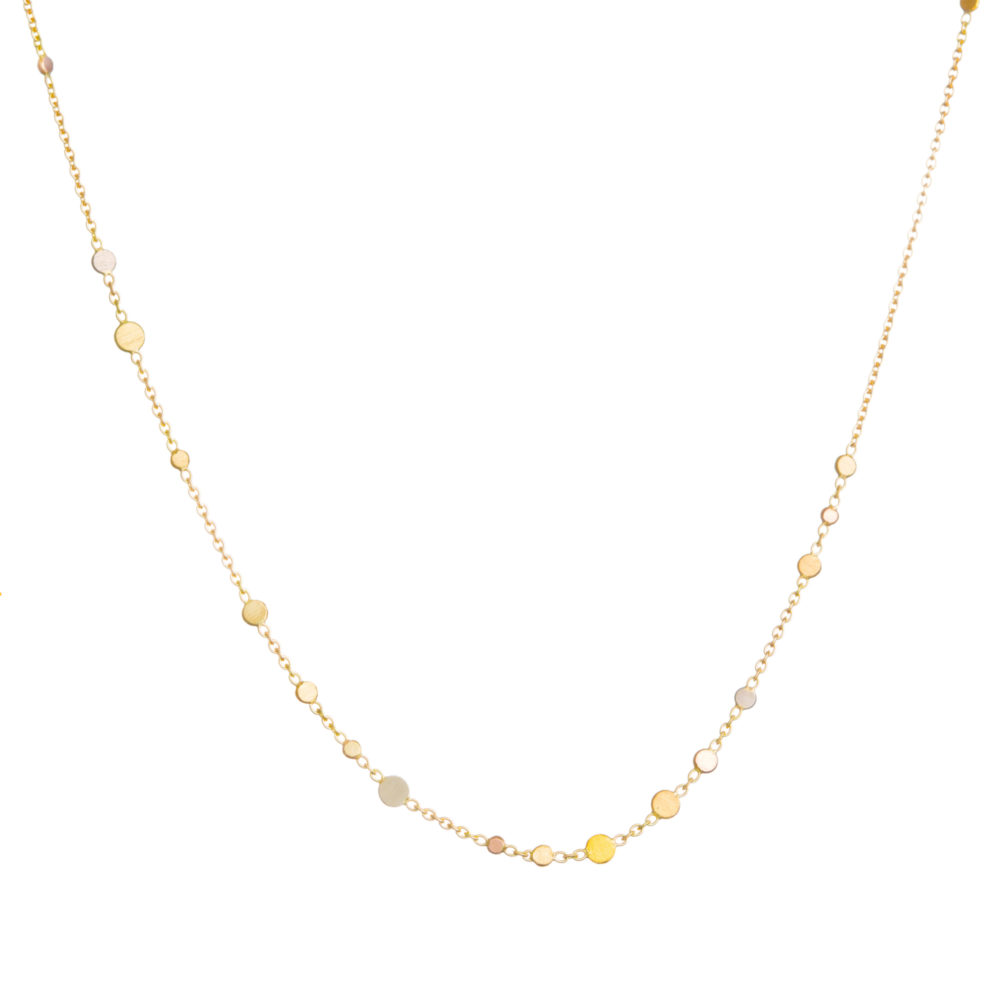 Sia Taylor SN2 RAIN Scattered Dust Rainbow Necklace WB