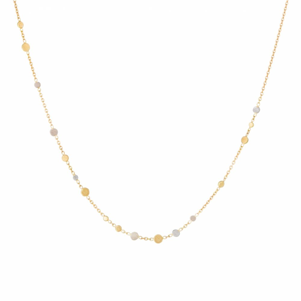 Sia Taylor SN2 YWP Scattered Dust Gold Platinum Necklace WB