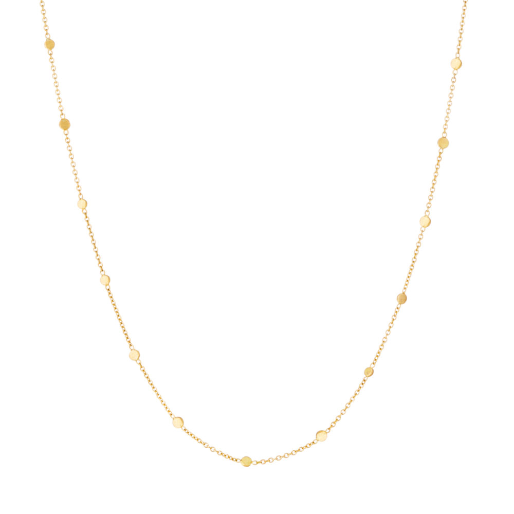 Sia Taylor SN4 Y Yellow Gold Dust Necklace WB