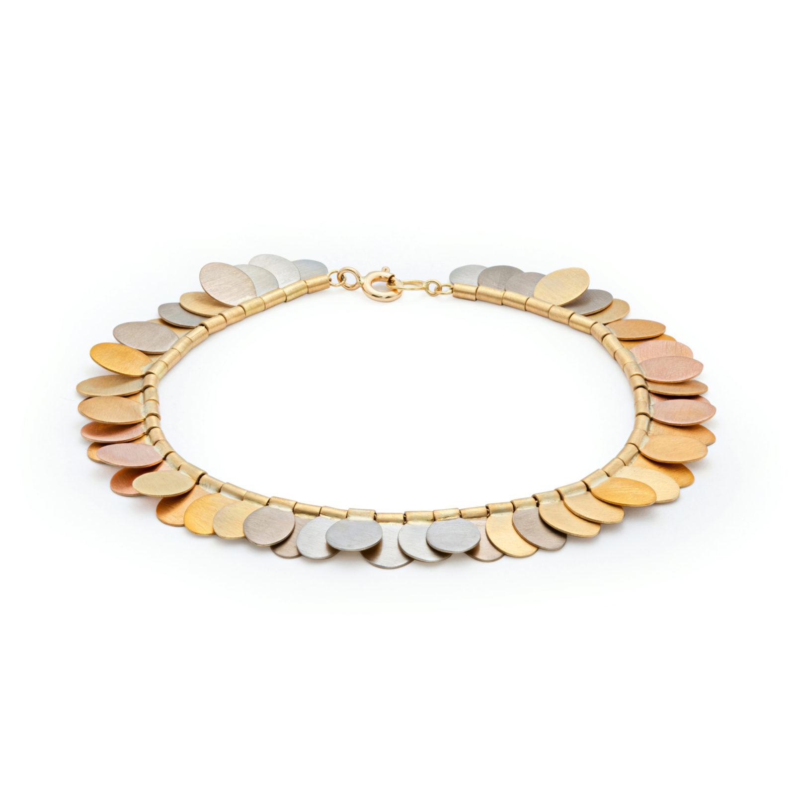 Sia Taylor FB1 YRAIN Rainbow Gold Bracelet Back WB