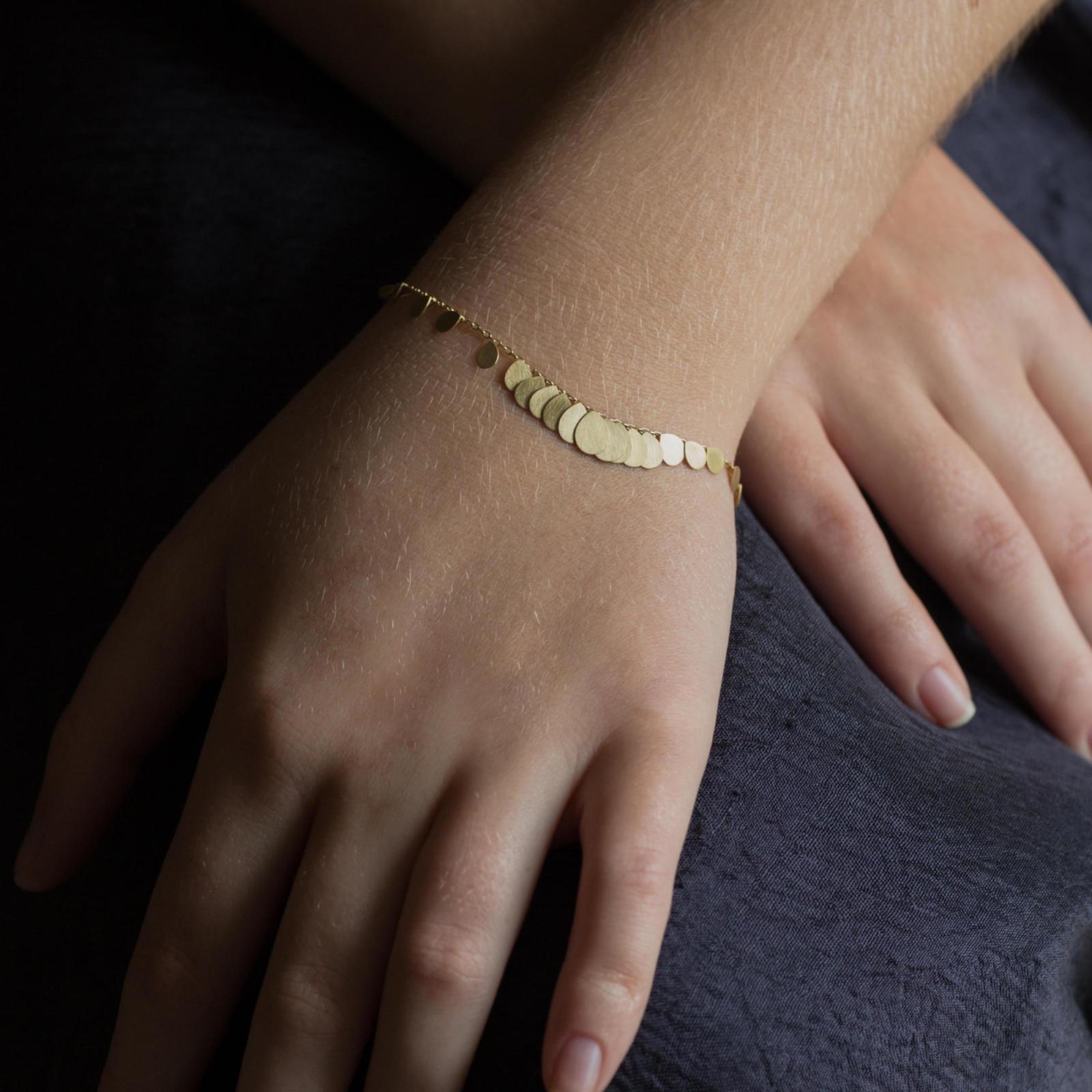 Sia Taylor FB2 Y Yellow Gold Bracelet M