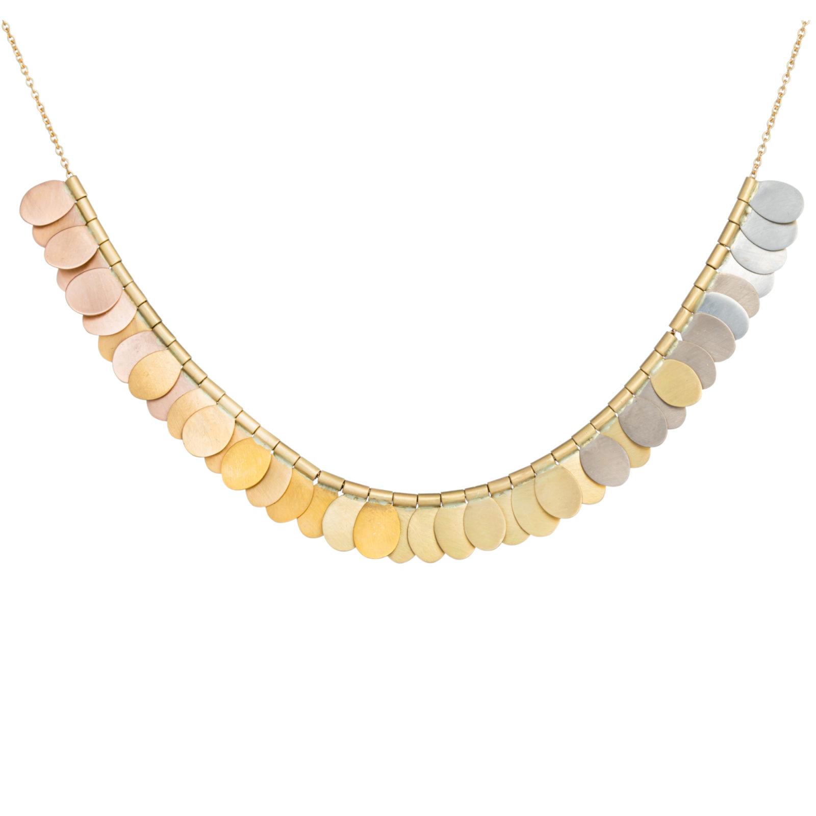 Sia Taylor FN1 YRAIN Rainbow Gold Necklace Back WB