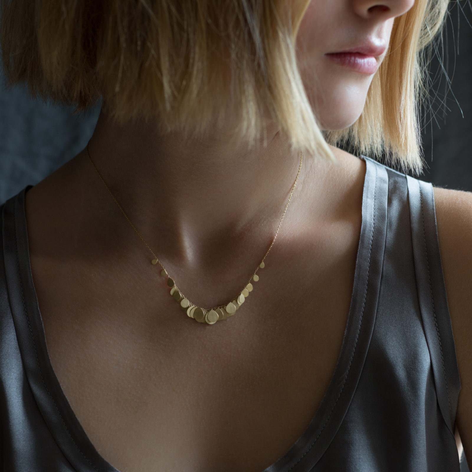 Sia Taylor FN2 Y Yellow Gold Necklace M