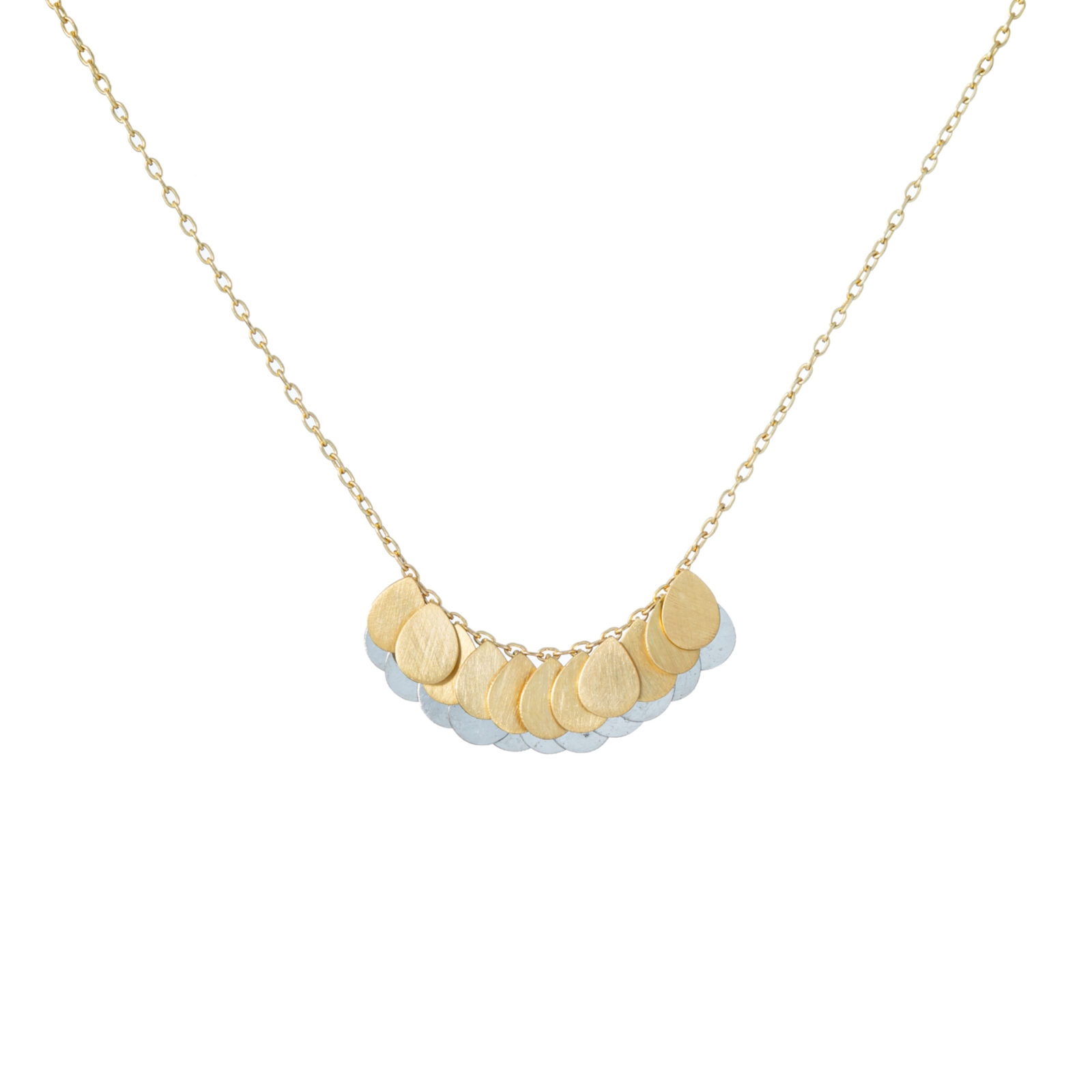 Sia Taylor FN4 YP Yellow Gold Platinum Necklace WB