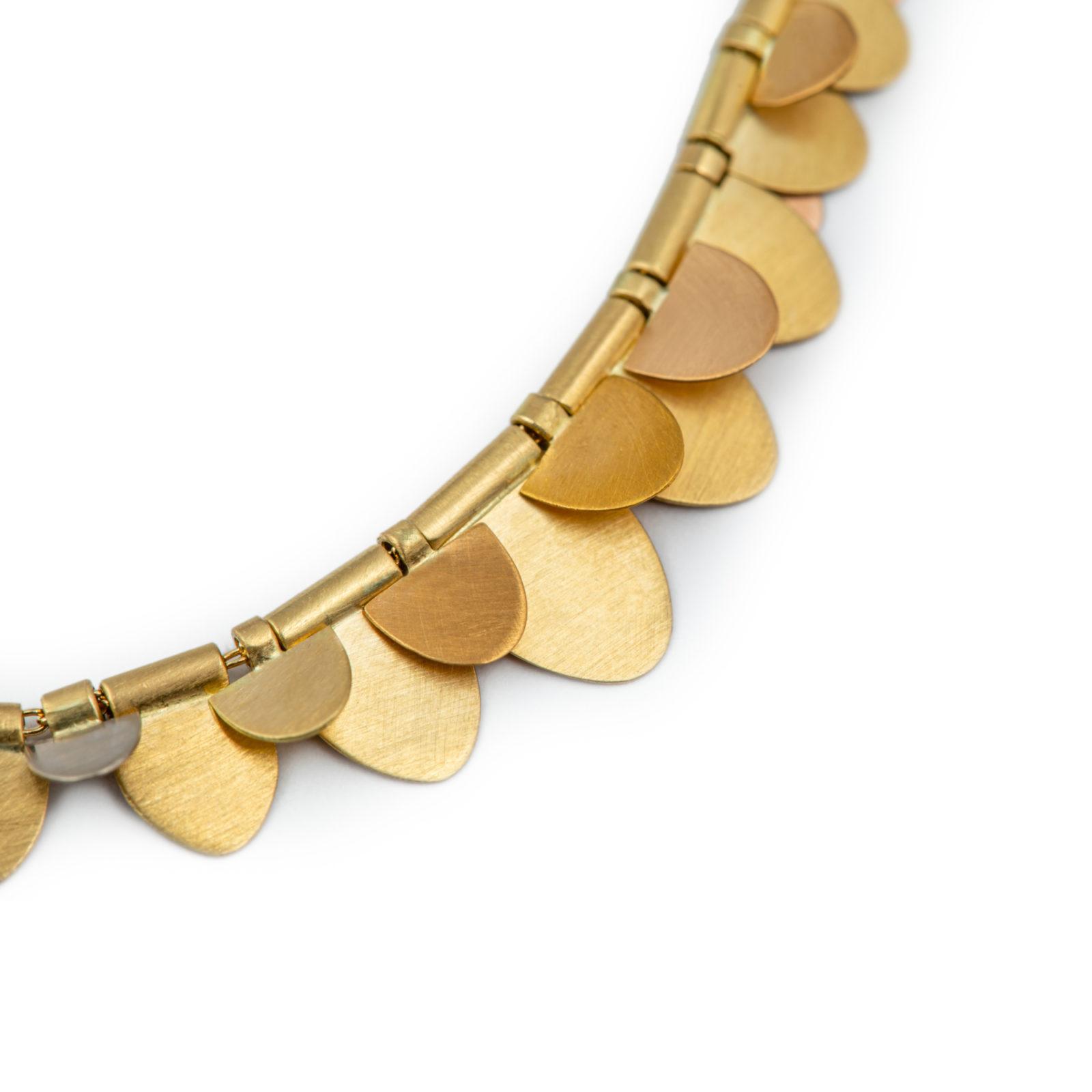 Sia Taylor FN5 RAIN Rainbow Gold Necklace C