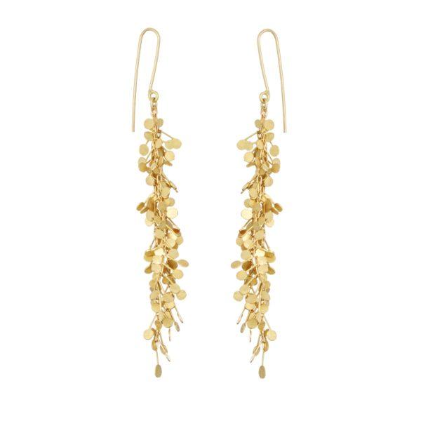 Sia Taylor DE357 Y Yellow Gold Big Dots Earrings WB