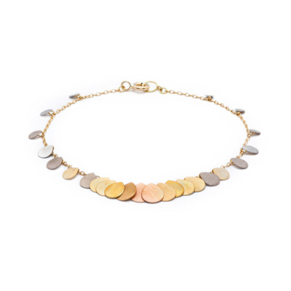 Sia Taylor FB2 RAIN Rainbow Gold Bracelet WB