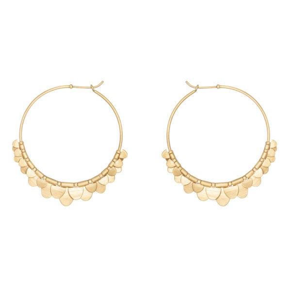 Sia Taylor FE8 Y Yellow Gold Earrings WB