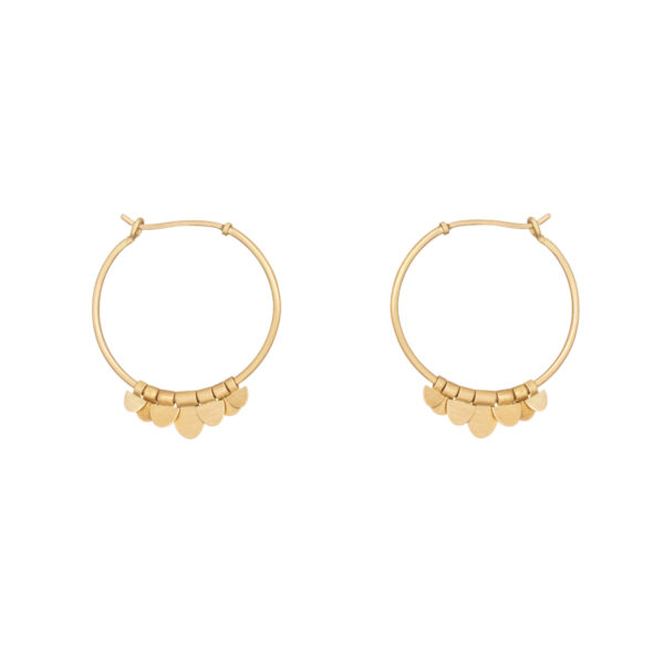 Sia Taylor FE9 Y Yellow Gold Earrings WB