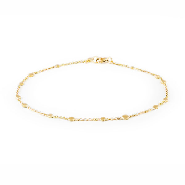 Sia Taylor SB1 Y Yellow Gold Scattered Dust Bracelet WB