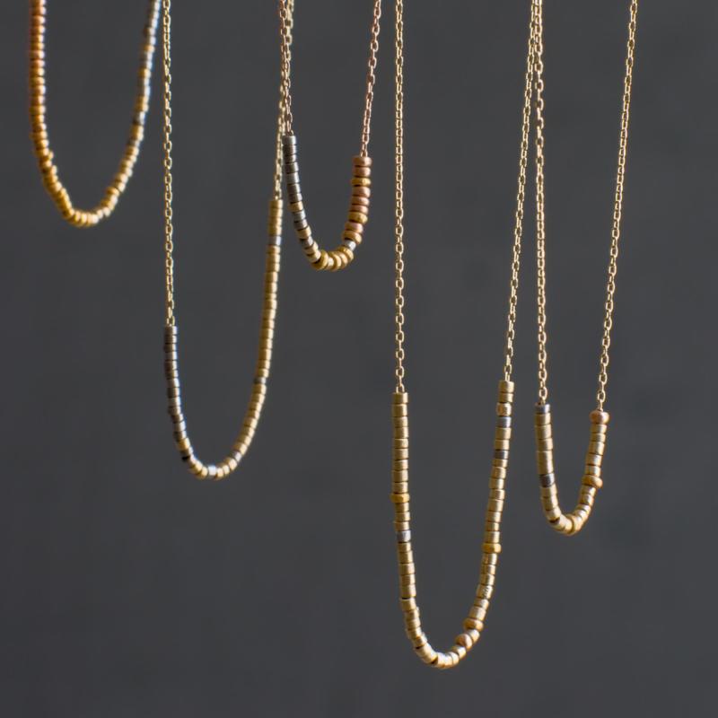 Sia Taylor Tiny Bead Necklaces